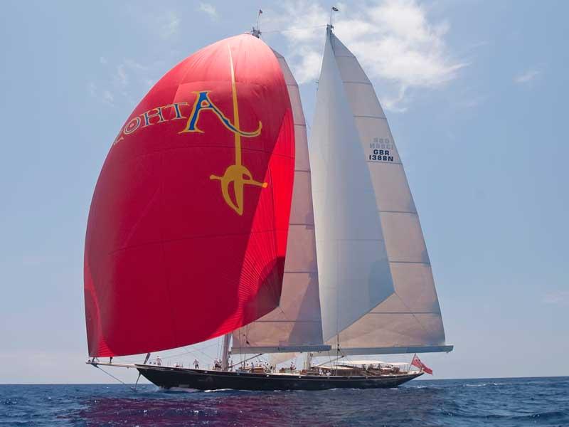 sailing yacht Athos