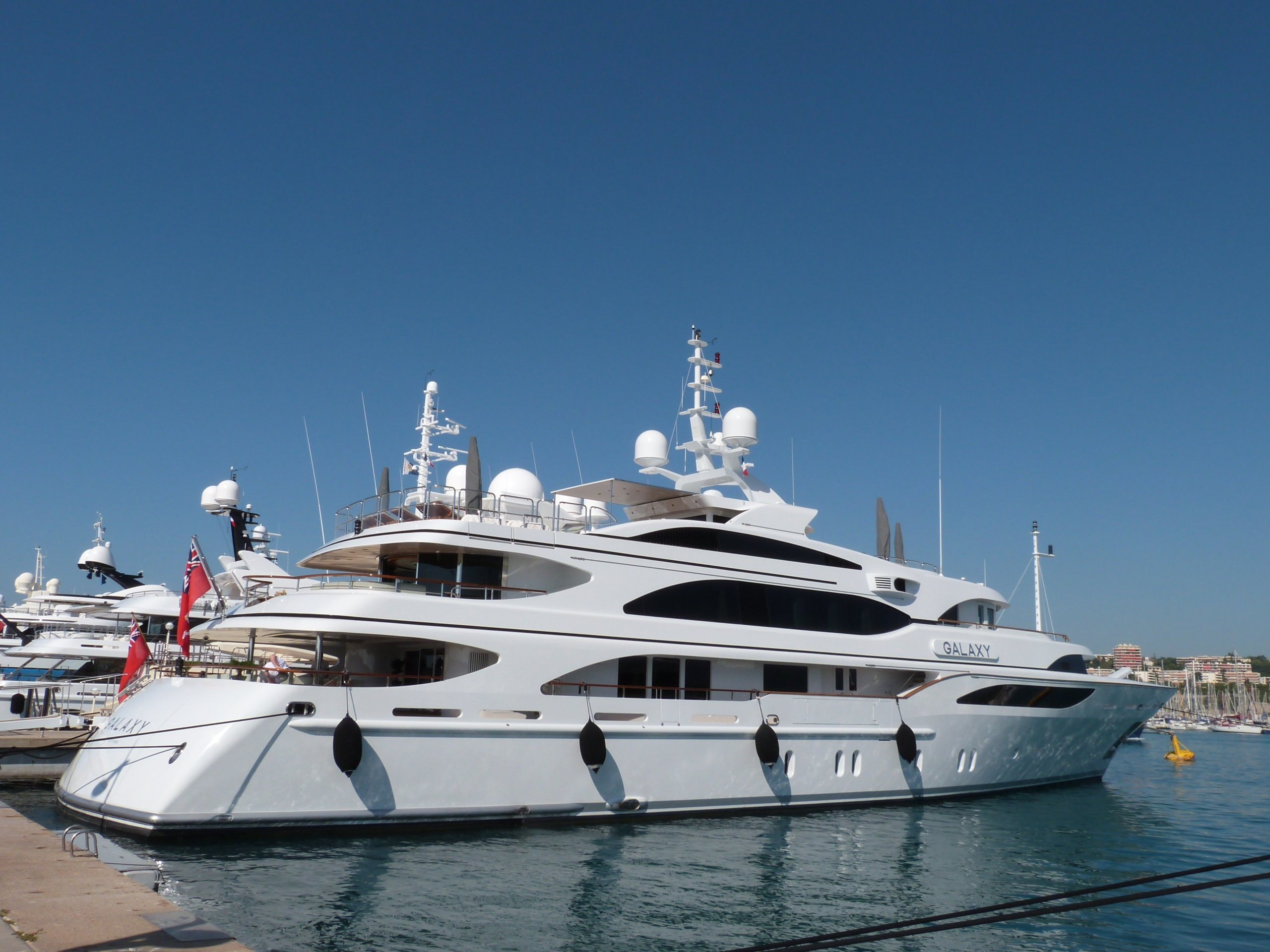 yacht Galaxy – 56m – Benetti – Hans Thomas Gross