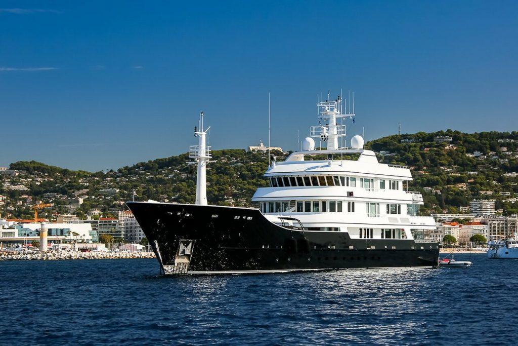 yacht Grand Rusalina – 59,6m – Trinity Yachts – Rustem Teregulov