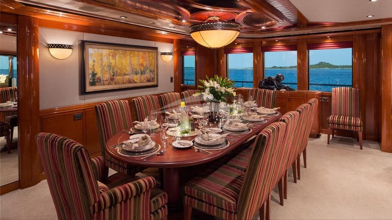 yacht Hospitality interior