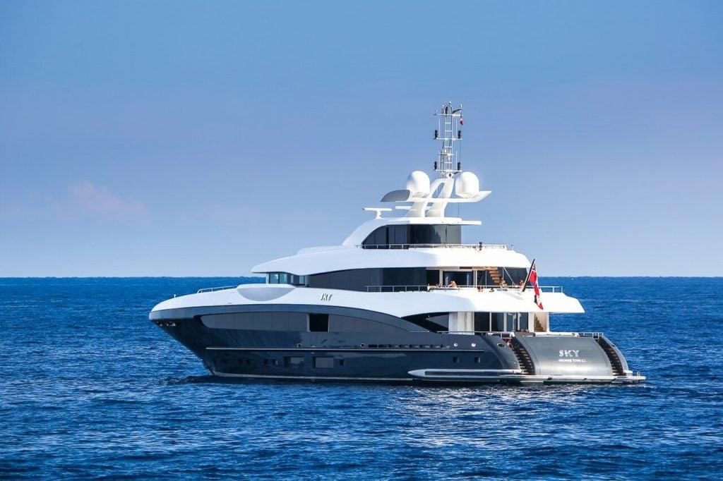 Sky yacht - 50,5m - Heesen