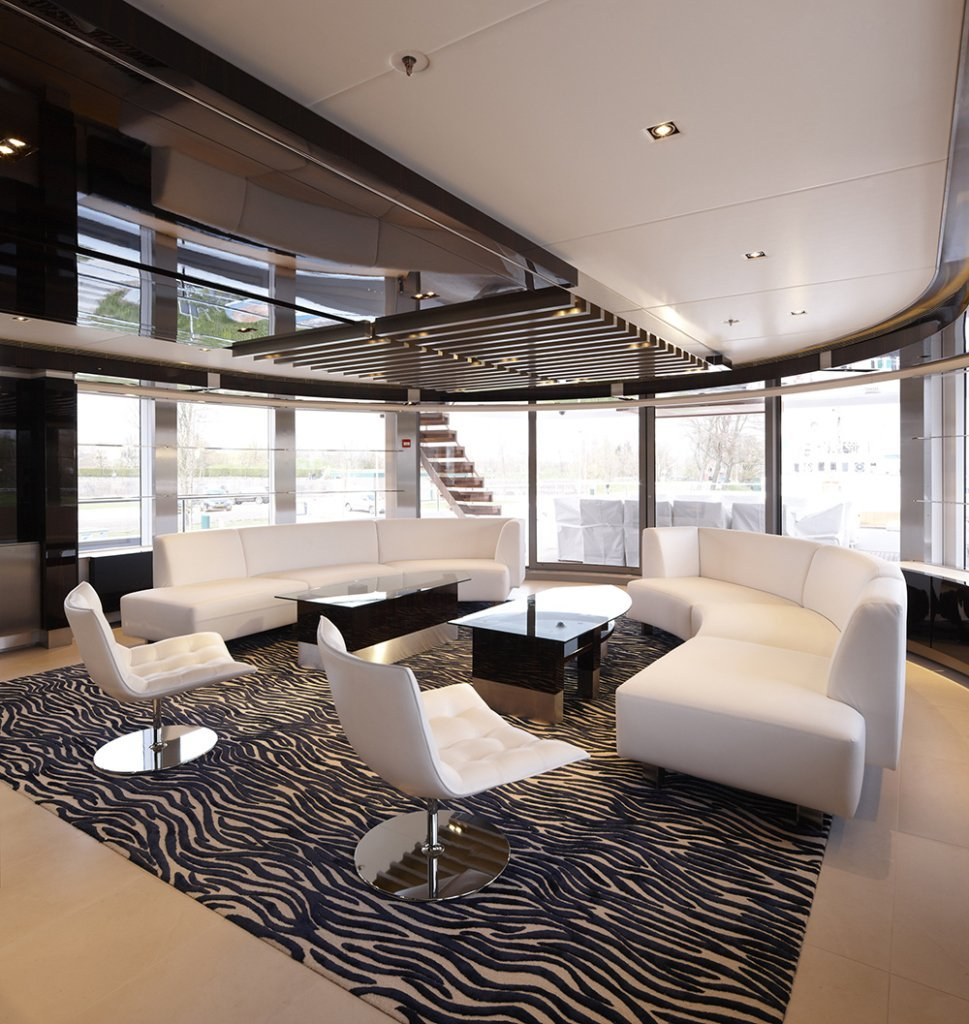 yacht Sky interior
