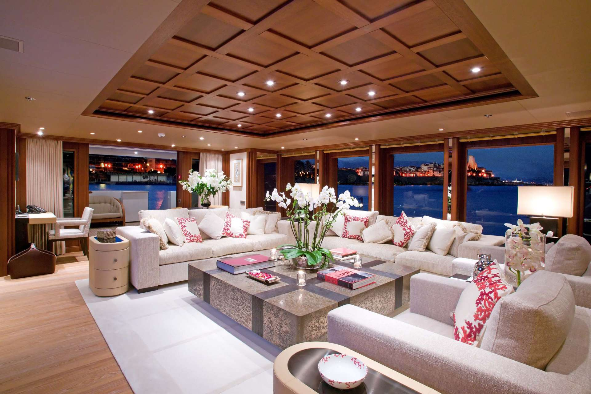 yacht Space interior