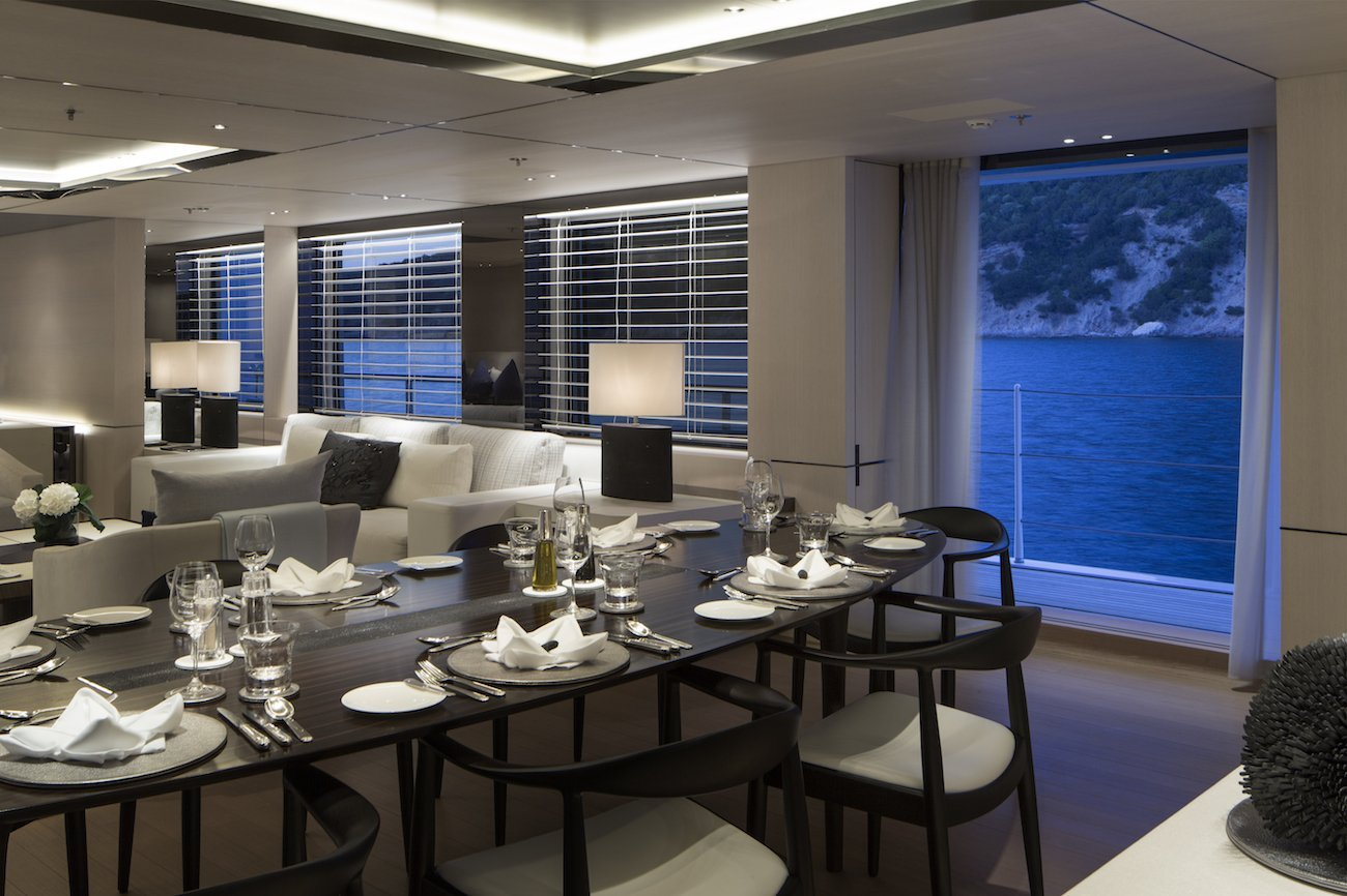 yacht Synthesis interior