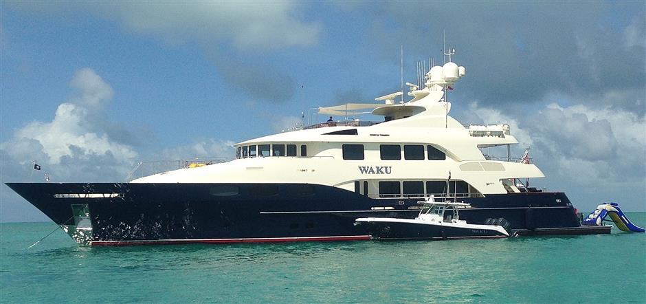 Trinity yacht WAKU