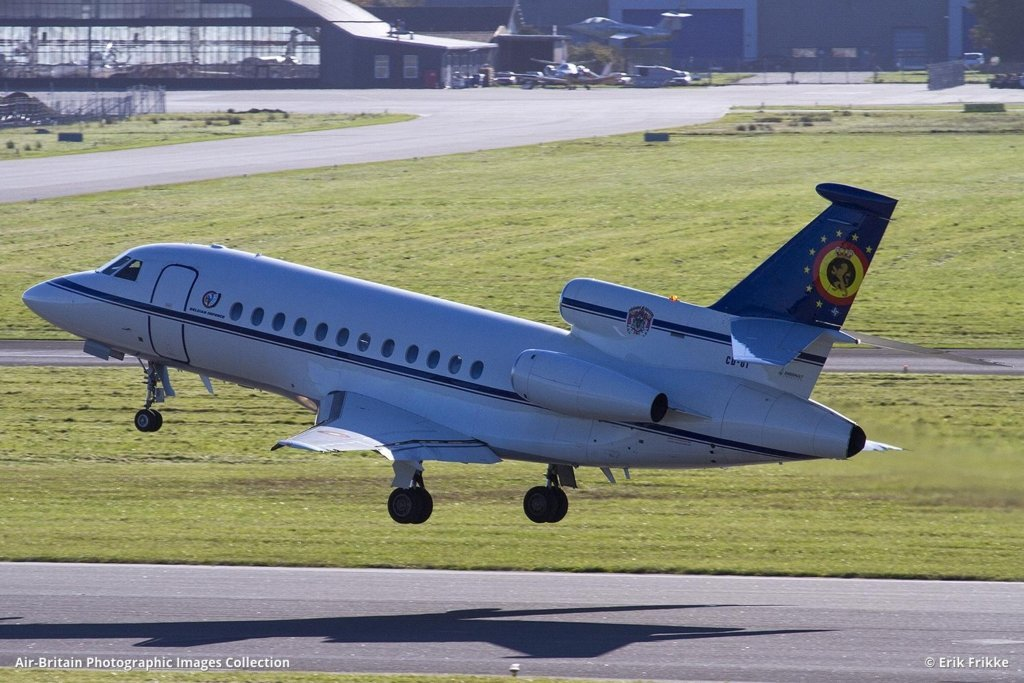 CD-01 Dassault Falcon 900B Belgian Airforce