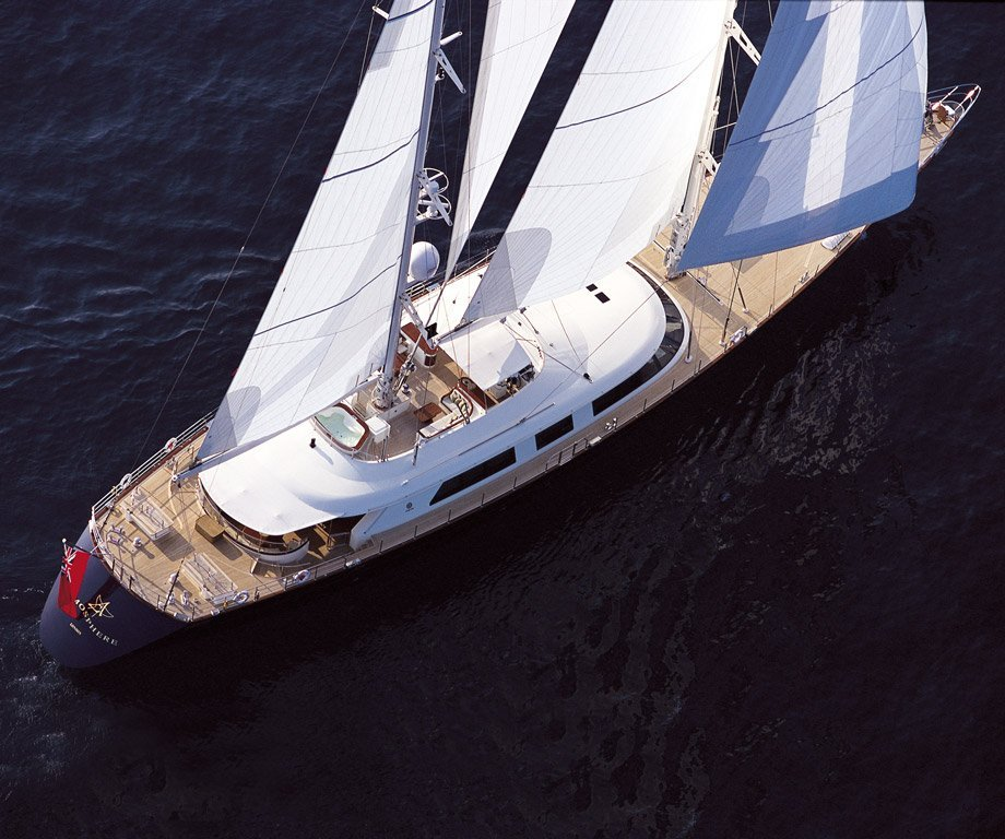 sailing yacht Atmosphere – Perini Navi – 2000 – Georges Cohen
