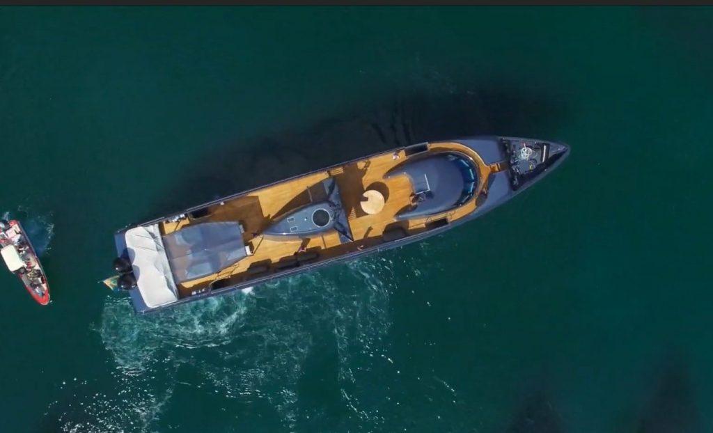 yacht Blue Ice – Baglietto – 1999