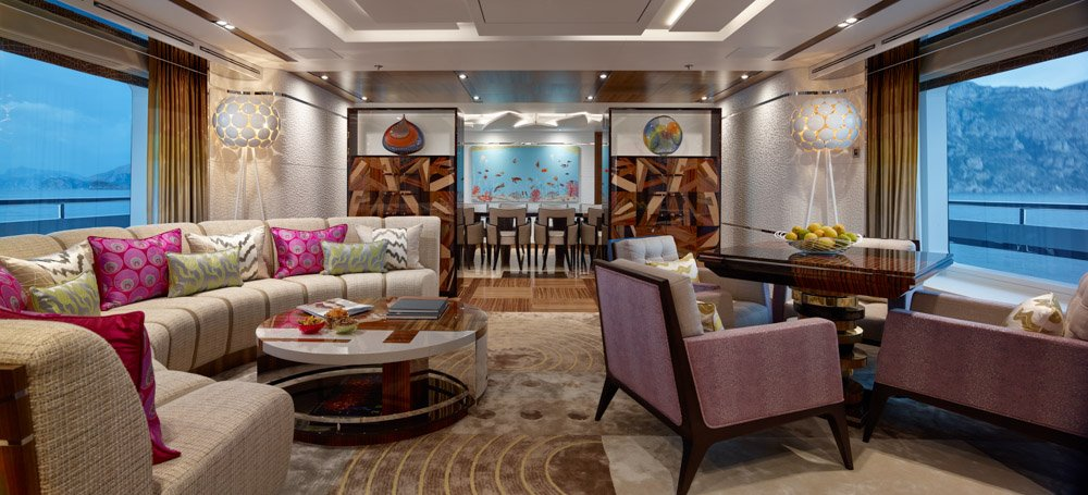 yacht Moon Sand Interior