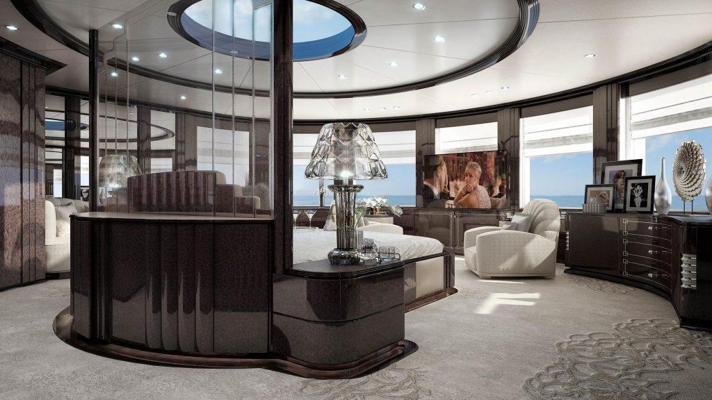 yacht Spectre interior