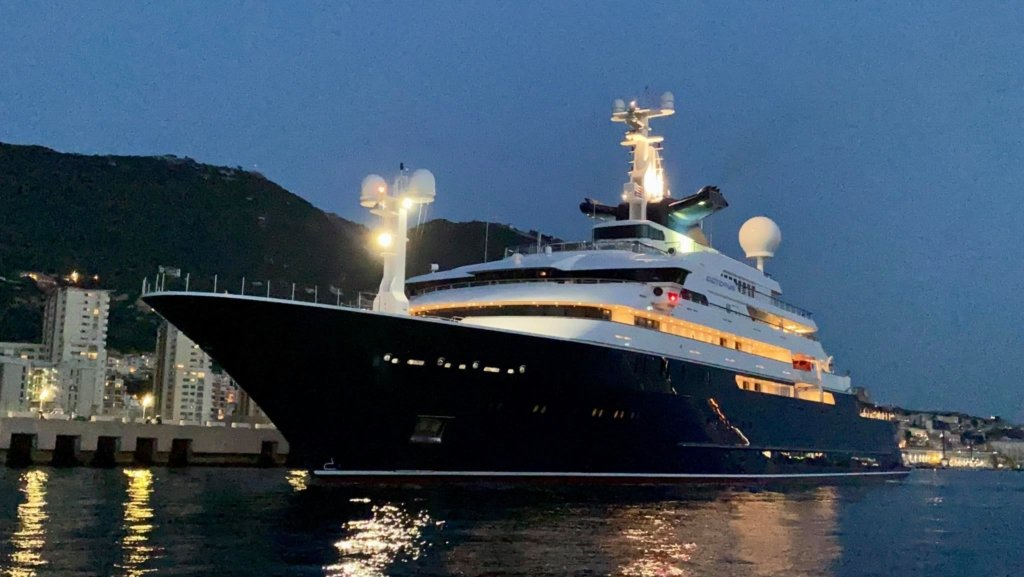 Roger Samuelsson is owner of the yacht Octopus