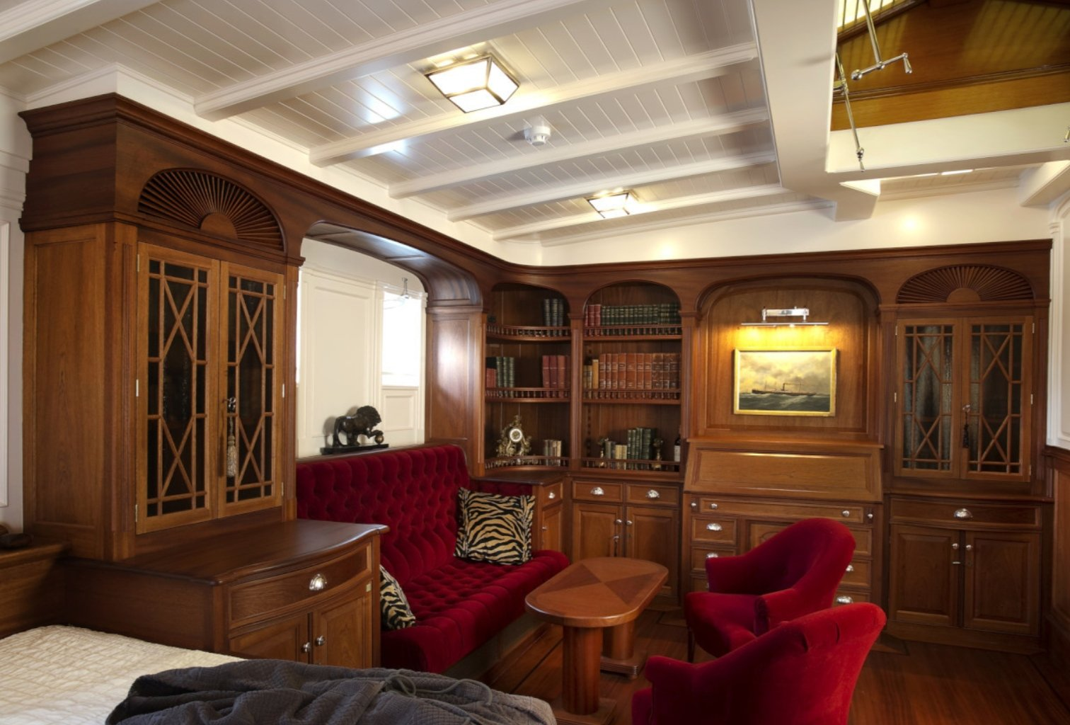 sailing yacht Atlantic interior