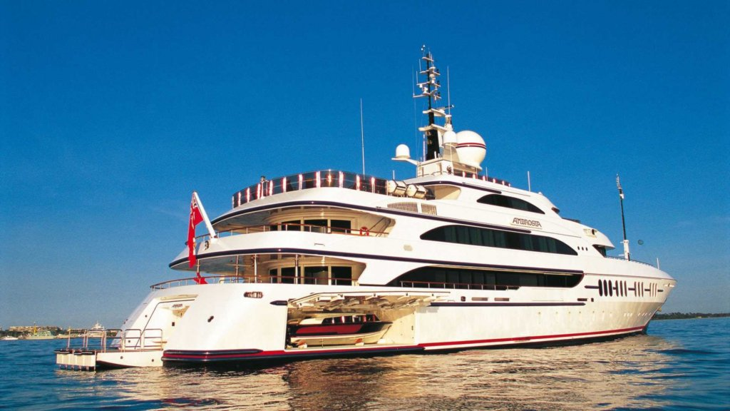 yacht Ambrosia – Benetti – 2006 – Ambrous Young