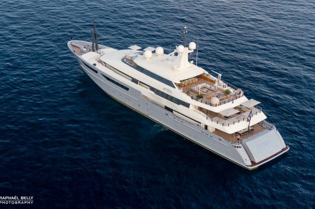 AZTECA Yacht • CRN • 2010 • owner Ricardo Salinas Pliego