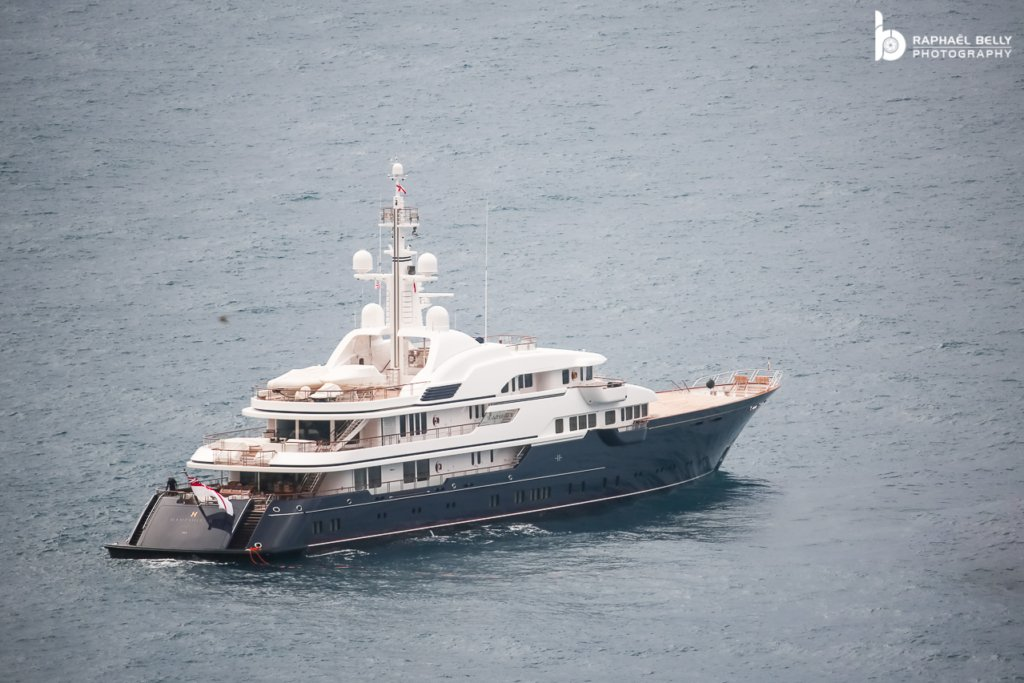 Hampshire II yacht • Feadship • 2012 • owner Jim Ratcliffe
