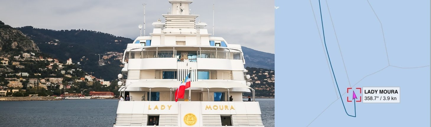 Lady Moura yacht sold