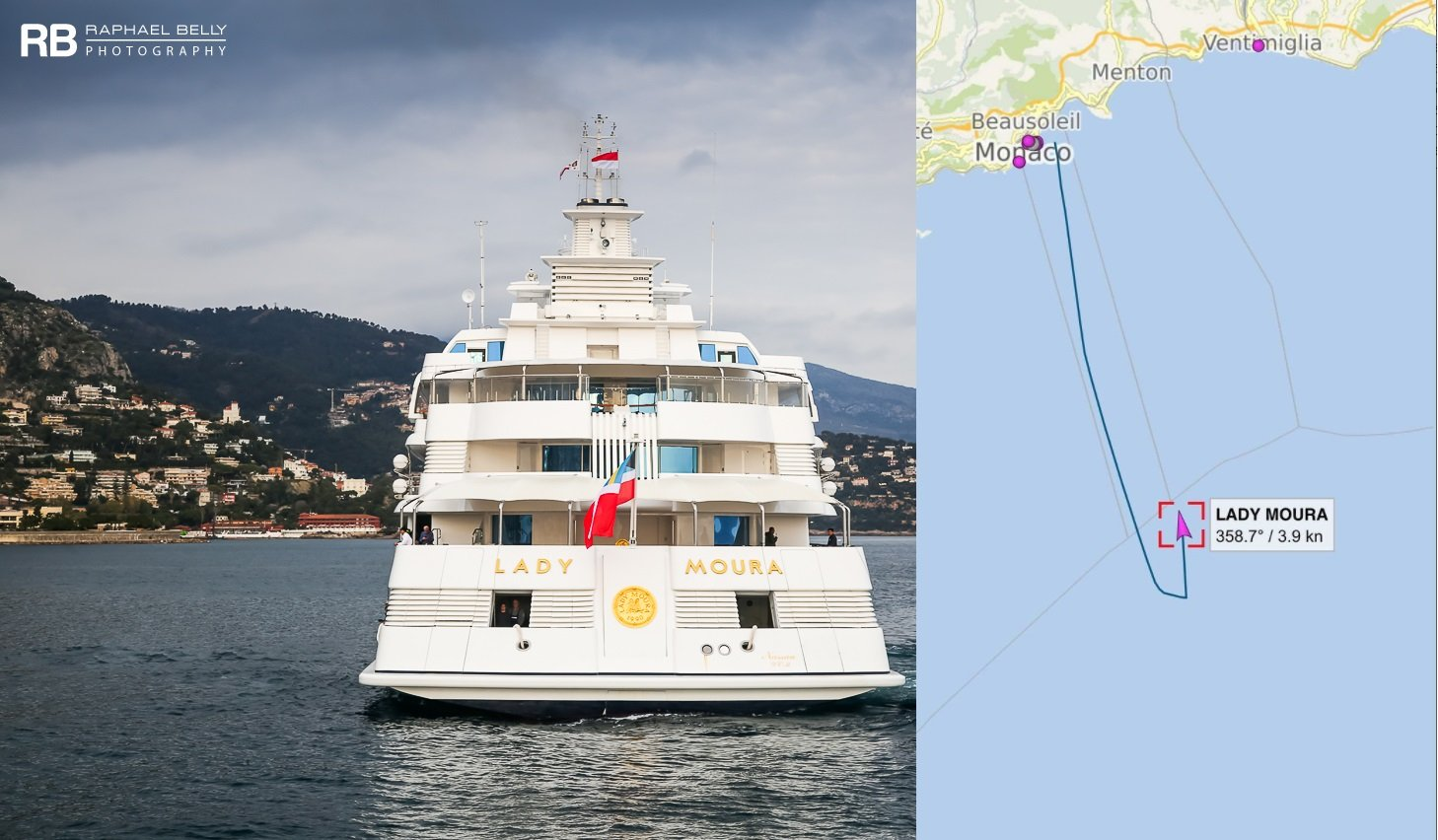 LADY MOURA Yacht • News • Has She Been Sold?