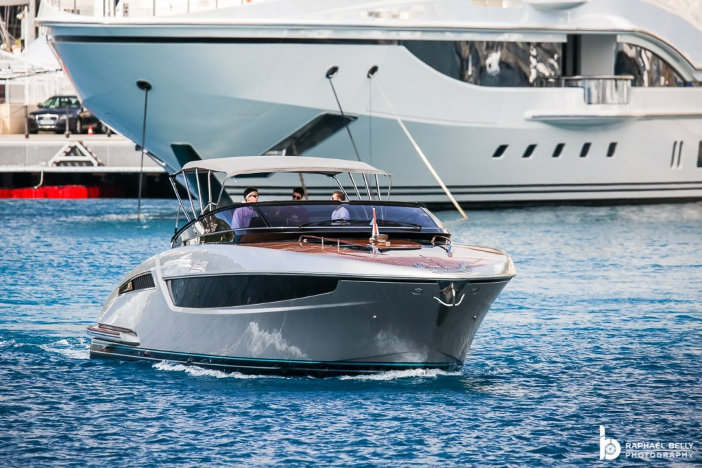 MONZA yacht – Riva Dolceriva – owner Charles Leclerc