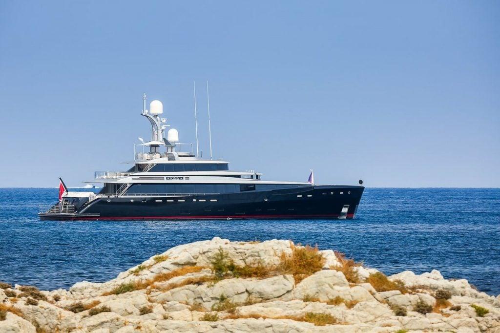 KISS Yacht • Feadship • 2015 • owner Rudolf Booker