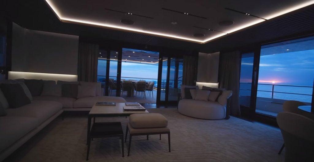 Baglietto yacht C interior