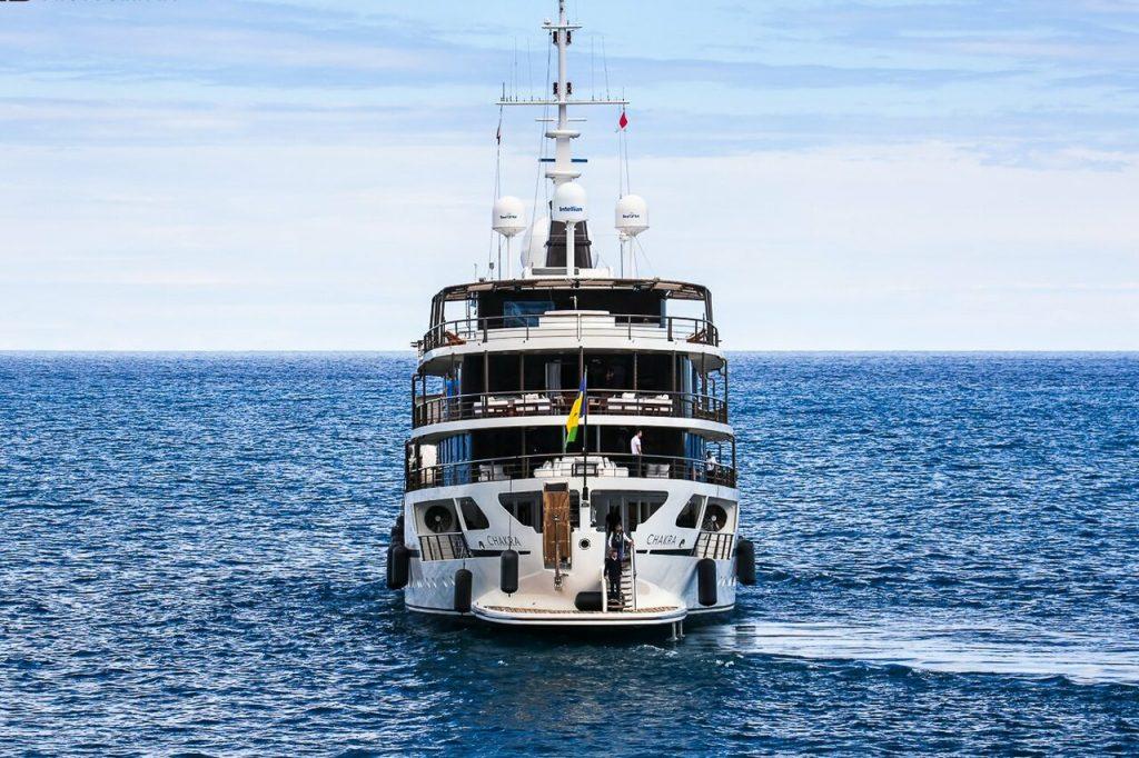 Chakra yacht • Gebr Van der Werf • 1963 • owner Kheir Eddine El Jisir