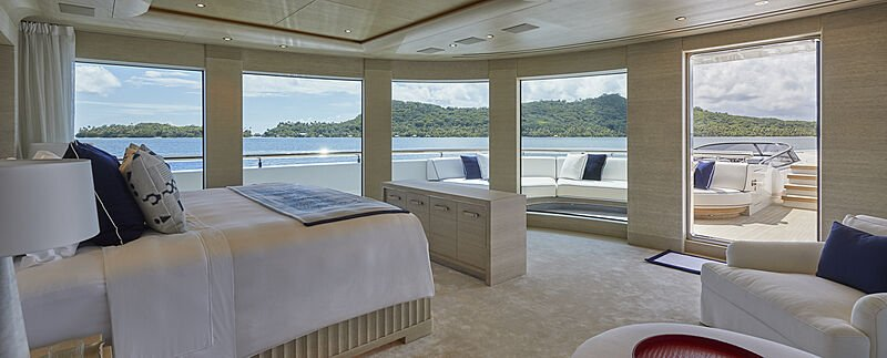 Benetti yacht IJE interior